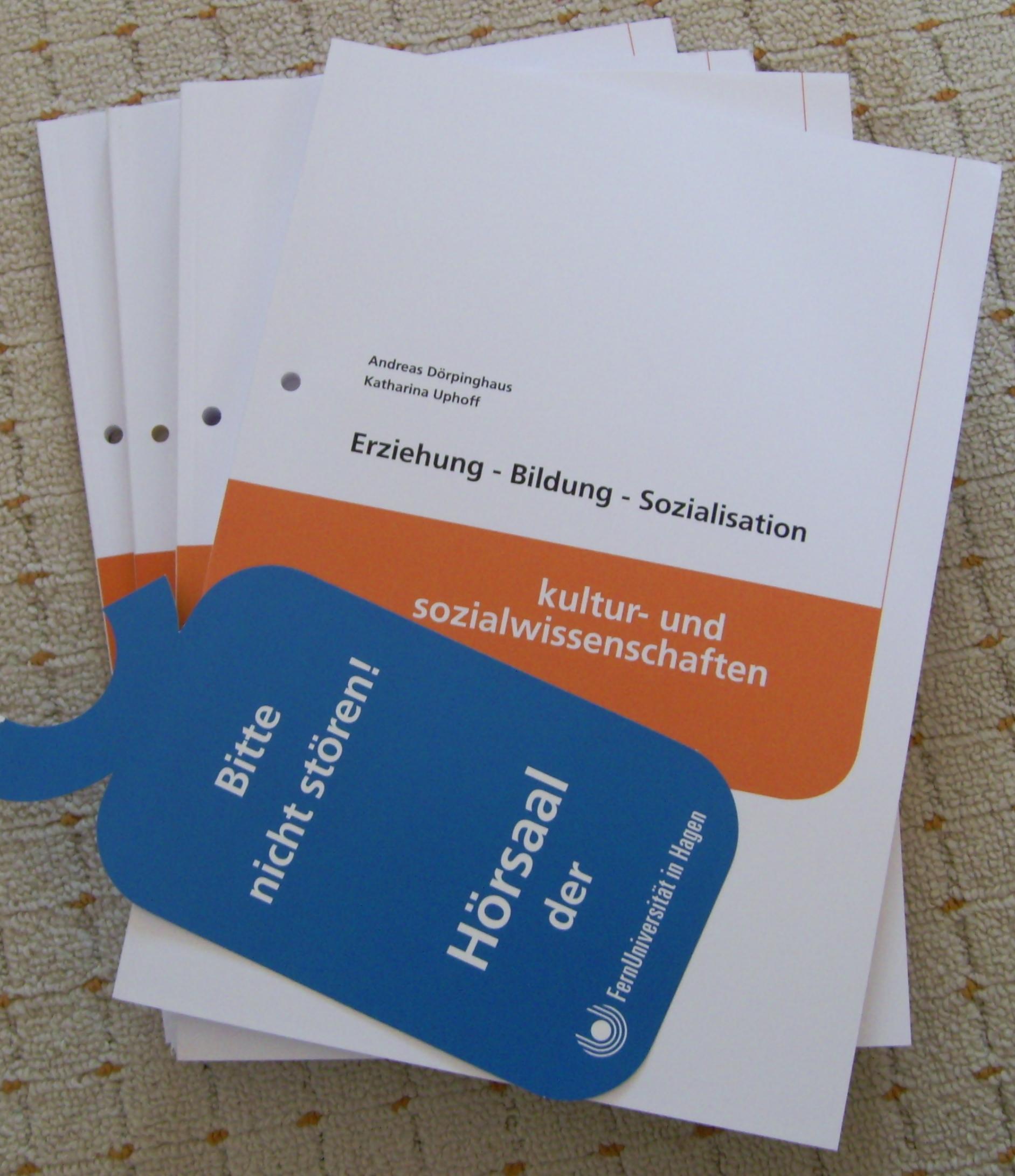 Unterlagen für das Fernstudium